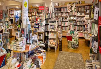 Buchhandlung Hintergrund